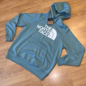 NWT The North Face Half Dome Hoodie, Green, Medium